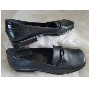 Enzo Angiolini Loafers Black 10 M Leather